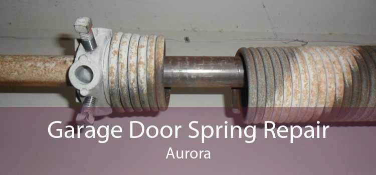 Garage Door Spring Repair Aurora