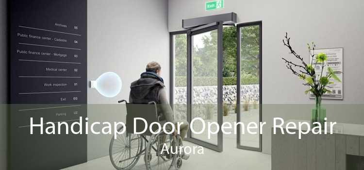 Handicap Door Opener Repair Aurora